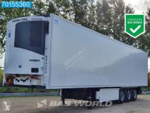 Krone mono temperature refrigerated semi-trailer ThermoKing SLXe 400 Rohrbahn Meat-/Fleischhang Palettenkasten