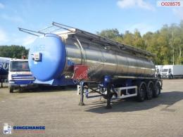Feldbinder chemical tanker semi-trailer Chemical tank inox 18.5 m3 / 1 comp