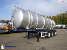 Desot chemical tanker semi-trailer Chemical tank inox 27.5 m3 / 1 comp