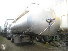 ETA INOX semi-trailer used food tanker