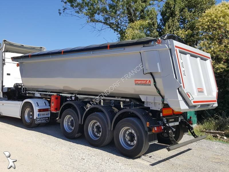 Просмотреть фотографии Полуприцеп Langendorf 6200kg, 27m3