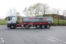Semitrailer lastvagn bygg-anläggning Langendorf Alu TP 24m3 5000kg