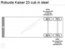 Voir les photos Semi remorque Robuste Kaiser 23 cub in steel