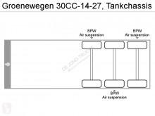 Voir les photos Semi remorque Groenewegen 30CC-14-27, Tankchassis
