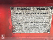 Voir les photos Semi remorque Fruehauf Kiepchassis 20ft Bladvering
