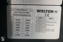 Voir les photos Semi remorque Wielton - WYWROTKA / 45 M3 / KLAPO-DRZWI / OŚ PODNOSZONA