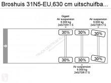 Voir les photos Semi remorque Broshuis 31N5-EU,630 cm uitschuifbaar,naloopas,verbreders,ADR VLG