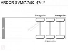 Voir les photos Semi remorque Ardor SVM/7.7/50  47m³