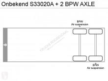 Voir les photos Semi remorque nc S33020A + 2 BPW AXLE