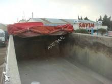 View images Benalu BENNE TP ALU  2 ESSIEUX SMB ROUES JUMELEES  23m3 SUSPENSIONS MECANIQUES FREINS TAMBOURS PORTE UNIVERSELLE BACHE CRAMARO semi-trailer