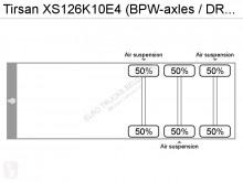Zobaczyć zdjęcia Naczepa Tirsan XS126K10E4 (BPW-axles / DRUM BRAKES / FREINS TAMBOUR / GERMAN TRAILER)