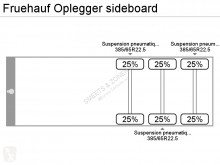 Voir les photos Semi remorque Fruehauf Oplegger sideboard