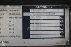 Voir les photos Semi remorque Pacton Flatbed BPW eco plus / Drum brakes