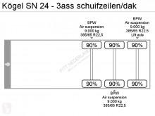 Prohlédnout fotografie Návěs Kögel SN 24 - schuifzeilen/dak