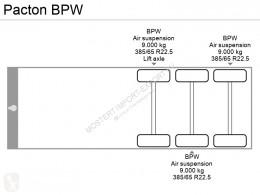 Ver as fotos Semi reboque Pacton BPW