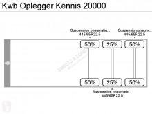 Vedere le foto Semirimorchio KWB Oplegger Kennis 20000