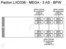 View images Pacton LXD336 - MEGA - 3 AS - BPW semi-trailer