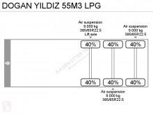 Voir les photos Semi remorque Dogan Yildiz 55M3 LPG