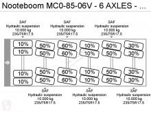 Bekijk foto's Trailer Nooteboom MC0-85-06V - 6 AXLES - BED 11,52 + 8,80 + 8,80 METER