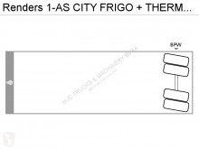 Voir les photos Semi remorque Renders 1-AS CITY FRIGO + THERMOKING - STEERING AXLE - BOX 9m40 - BELGIAN PAPERS
