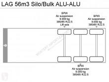 Zobaczyć zdjęcia Naczepa LAG 56m3 Silo/Bulk ALU-ALU