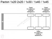 Ver as fotos Semi reboque Pacton 1x20 2x20 / 1x30 / 1x40 / 1x45