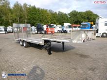 Voir les photos Semi remorque Veldhuizen Semi-lowbed trailer (light commercial) P37-2 + ramps + winch