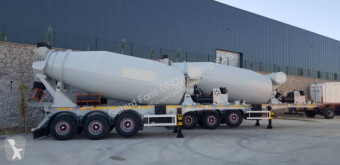 Sættevogn GT Trailers beton cementmixer ny