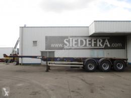 View images Wielton NS34P , Container trailer , 3 ROR axles , drum brakes , air suspension semi-trailer