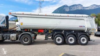Voir les photos Semi remorque Schmitz Cargobull SKI DISPO Benne acier 3 essieu,HARDOX,toute équipée,pour appro,enrobés,tp...