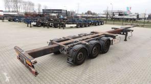 Voir les photos Semi remorque D-TEC 45FT HC, SAF+disc, ADR, 3x extendable, liftaxle, NL-Chassis, APK 07/2020