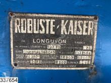 Voir les photos Semi remorque Robuste Kaiser Lowbed 62000 KG, 4,75 mtr extendable, B 2,47 + 2 x 0,25 mtr, Steel suspension, Lowbed