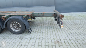 Voir les photos Semi remorque Krone 40FT HC, empty weight: 5.280kg, extendable at the rear, NL-Chassis, BPW