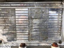 Voir les photos Semi remorque Maisonneuve Chemie 32582 Liter, 4 bar, Isolated tank