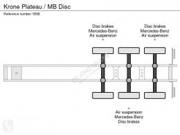 View images Krone Platte bak, MB DISC semi-trailer