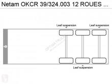 Voir les photos Semi remorque Netam OKCR 39/324.003 12 ROUES LAMMES/BLATT