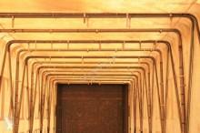 Vedere le foto Semirimorchio Lecitrailer Pianale con centina Cramaro - (1403)
