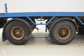 View images Kennis Flatbed with crane semi-trailer