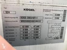 Преглед на снимките Полуремарке Kögel S24 - 3 AS + COILGOOT