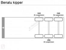 Voir les photos Semi remorque Benalu kipper
