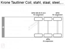 Voir les photos Semi remorque Krone Tautliner Coil, stahl, staal, steel, DRUM BRAKES