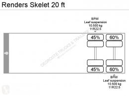 Zobaczyć zdjęcia Naczepa Renders Skelet 20 ft