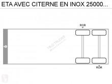 View images ETA AVEC CITERNE EN INOX 25000L- 3 COMPARTIMENTS semi-trailer