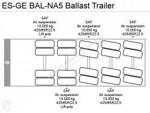 Zobaczyć zdjęcia Naczepa ES-GE BAL-NA5 Ballast Trailer
