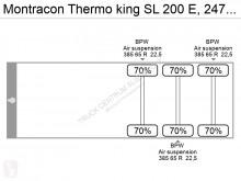 Voir les photos Semi remorque Montracon Thermoking SL 200 E, 247 Breit/width, 260 height,