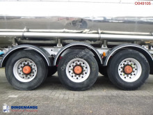 View images Magyar Chemical tank inox 26.7 m3 / 1 comp semi-trailer