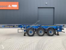 View images Nc 4 axles combichassis, 2 liftaxles, BPW-drumbrakes, MOT: 04/2022, TOP semi-trailer