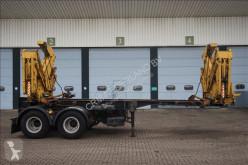 Voir les photos Semi remorque Klaus Side loader 22 ton 20ft Steel suspension / with its own engine