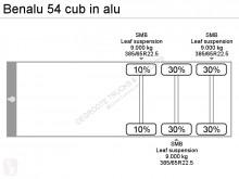 Voir les photos Semi remorque Benalu 54 cub in alu