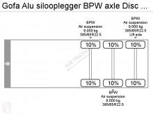 Vedere le foto Semirimorchio Gofa Alu silooplegger BPW axle Disc Brake SSA 62